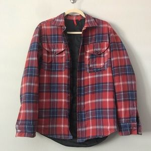 5/48 (Saks Brand) Flannel Shirt Jacket in Sz S